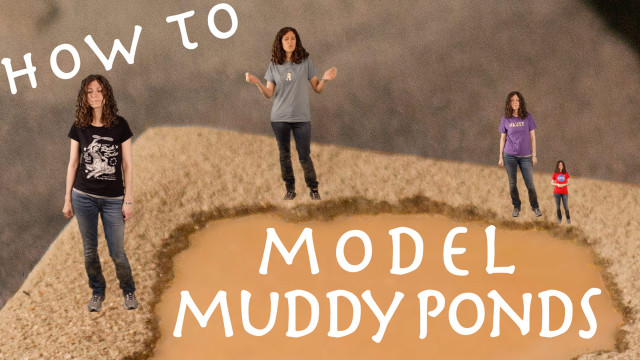 How to model muddy ponds