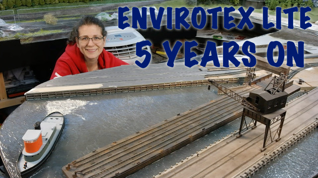 Envirotex Lite 5 years on