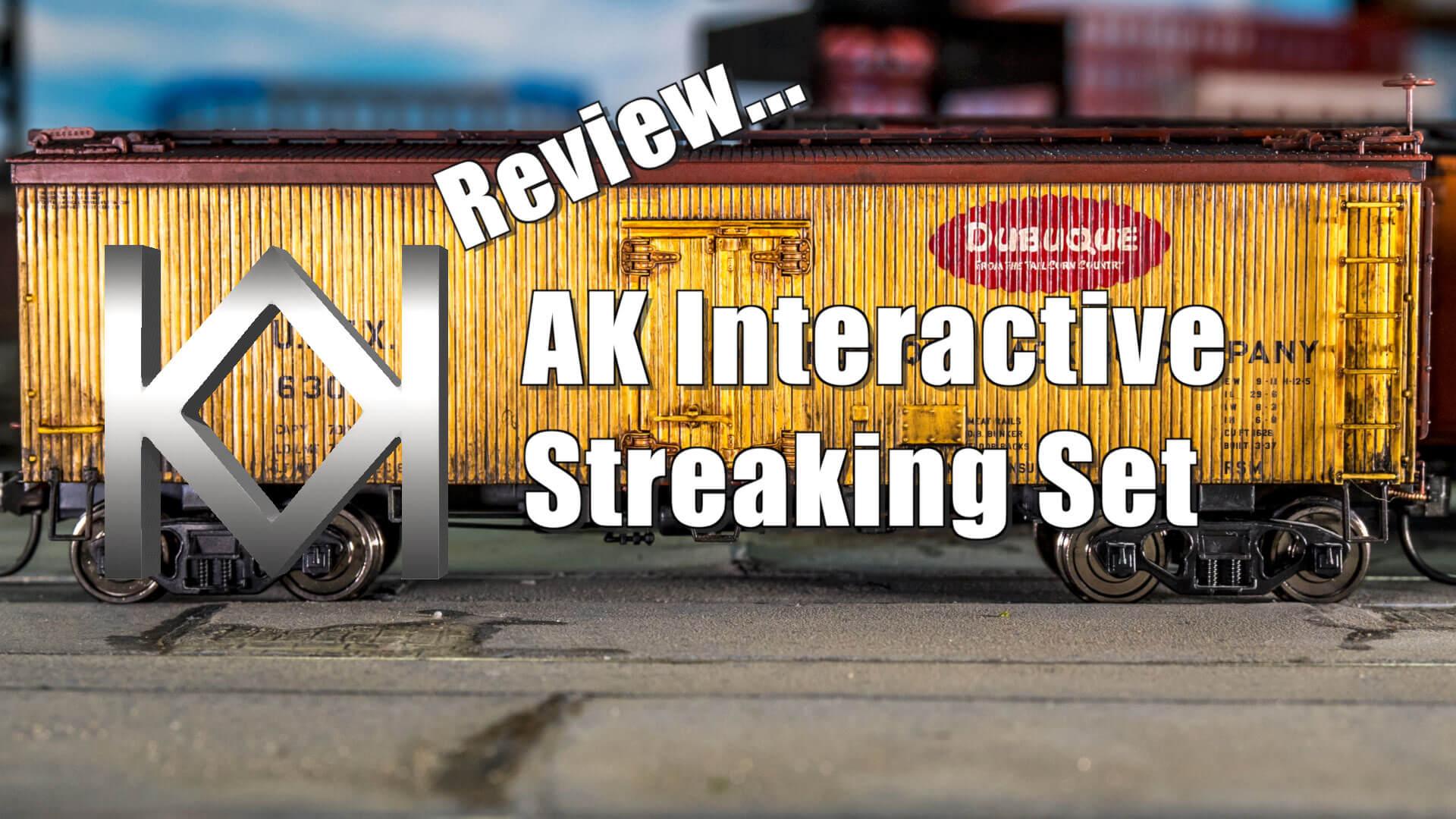AK Interactive Streaking Set